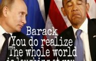 "Putin Laughs at Obama's Feeble ""Kitchen Diplomacy"""