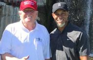 Tiger Woods and Trump Play Golf