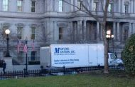 Uh oh!  Moving Trucks are Spotted Outside the White House!