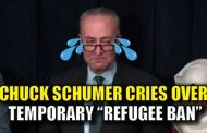 "Trump Laughs at Chuck Schumer and His ""Fake Tears"" about the Immigration Orders"