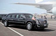 Trump's Presidential Limousine Will Have Tear Gas Cannons, Kevlar Tires, and Armor Plating… And an Escalade Grill.