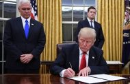 Trump Signs His First Executive Orders