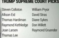 Trump Will Nominate A Supreme Court Justice Within Two Weeks of Inauguration