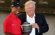 Tiger Woods Was Delayed By Trump Protesters and Almost Missed Dubai Golf Tournament