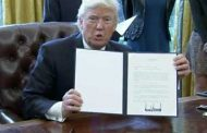 Trump Signs Executive Order to Begin Construction of the Wall